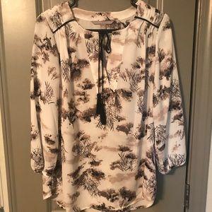 valerie stevens blouse / SIZE MED
